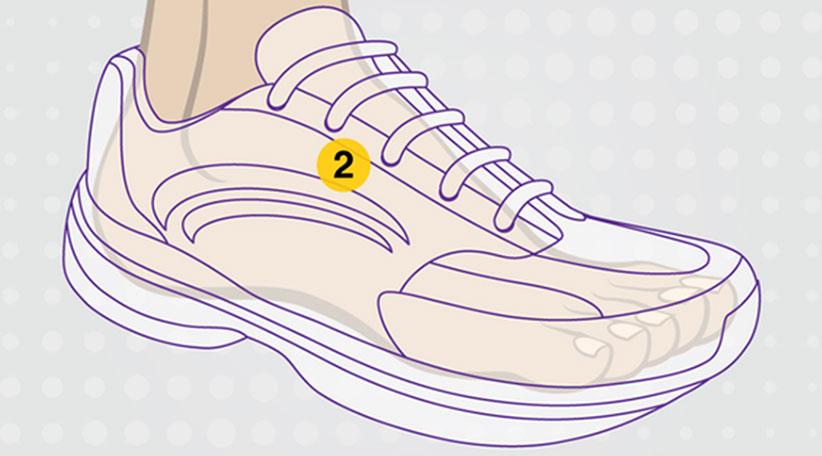خرید کفش پیاده روی زنانه