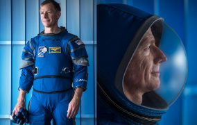 لباس جدید ناسا برای سلفی گرفتن عالی است
