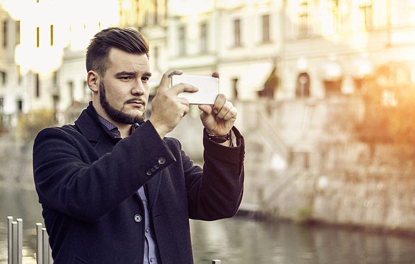 عکاسی موبایل با دوربین گوشی موبایل