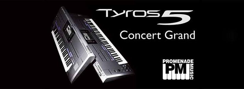 نقد و بررسی کیبورد یاماها مدل Tyros5 76 Keys
