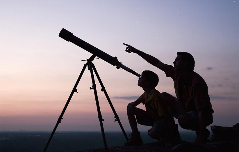بهترین تلسکوپ همان است که از آن بیشترین استفاده را میکنید.