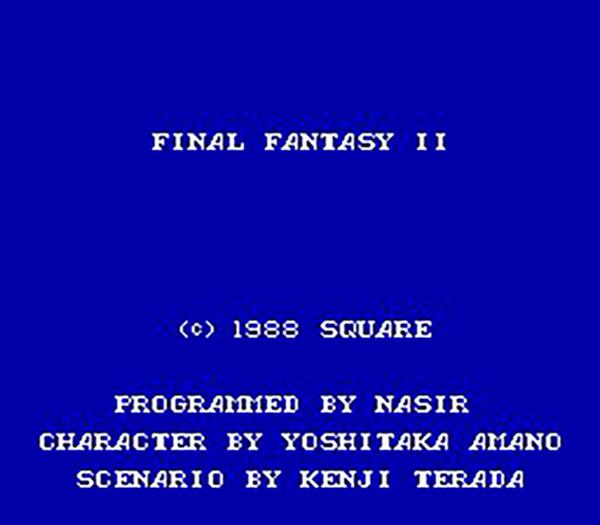 ناصر جبلی، برنامهنویسی که یکنفره فاینال فانتزی را کد زد