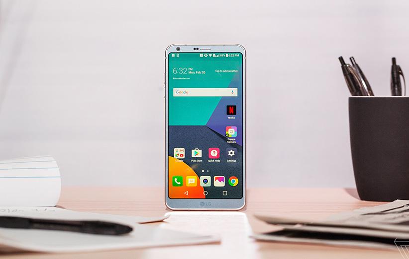 LG G6 رسما رونمایی شد
