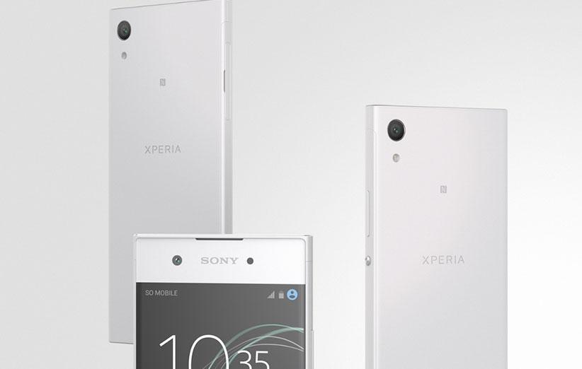 سونی از گوشیهای XA1 و XA1 Ultra رونمایی کرد