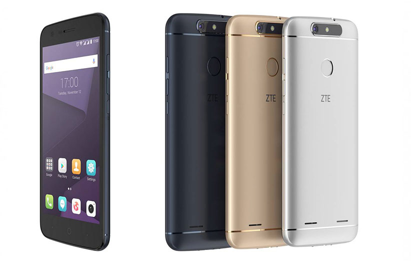 شرکت ZTE دو گوشی جدید معرفی کرد