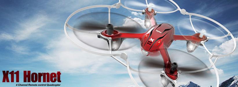 نقد و بررسی کوادکوپتر کنترلی سایما مدل X11 Hornet