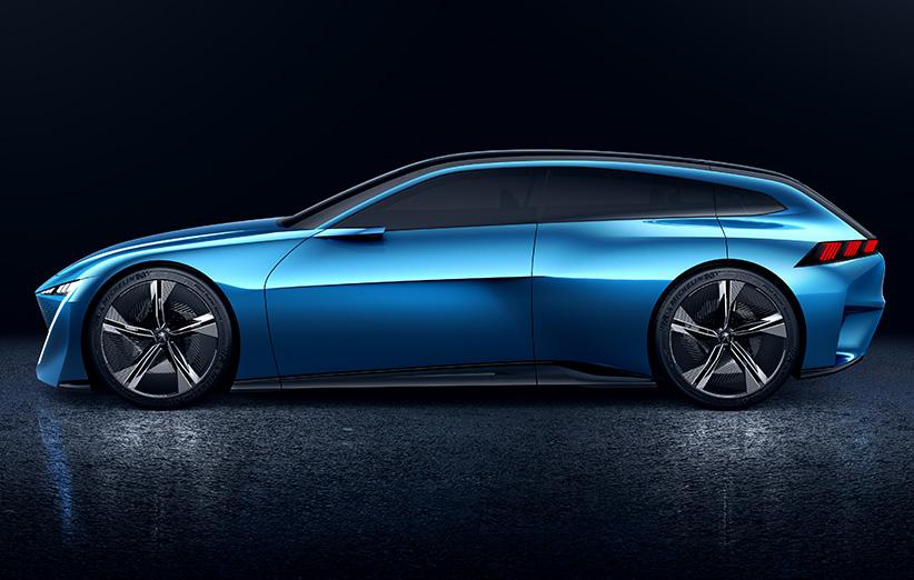 کانسپت ماشین جدید کمپانی فرانسوی پژو را ببینید