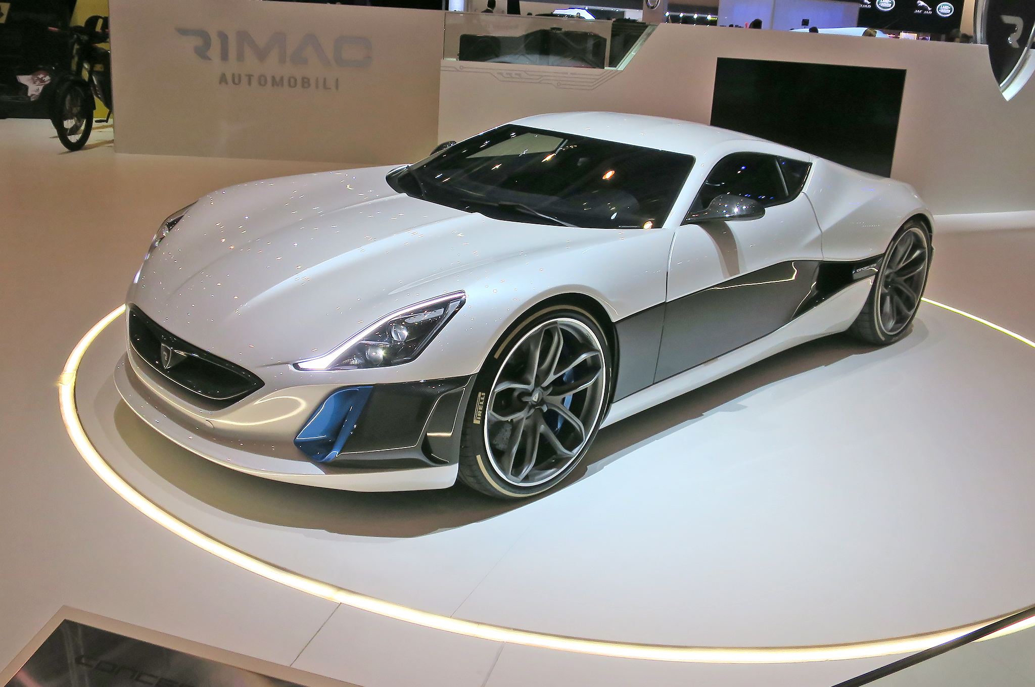 Rimac-Concept-One-front-three-quarters