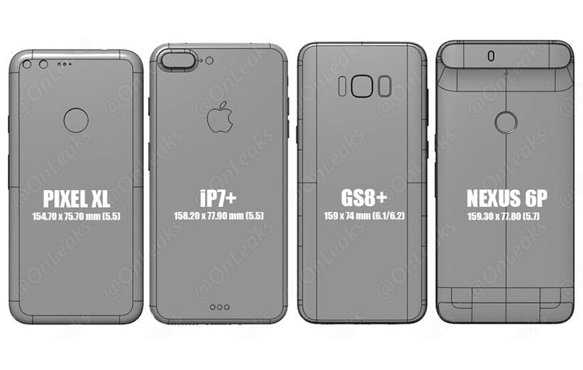 از روی این عکس مشخص میشود گلکسی S8 پلاس چه گوشی بزرگی است!