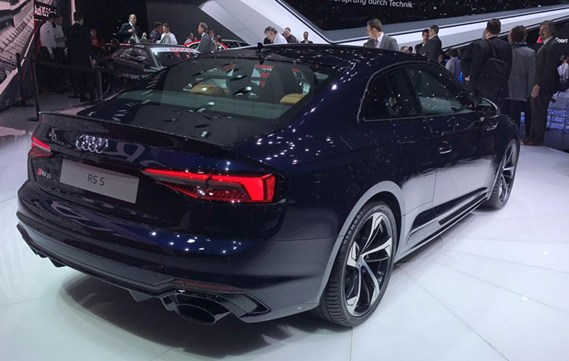 audi rs5 coupe geneva auto show 2017 rear