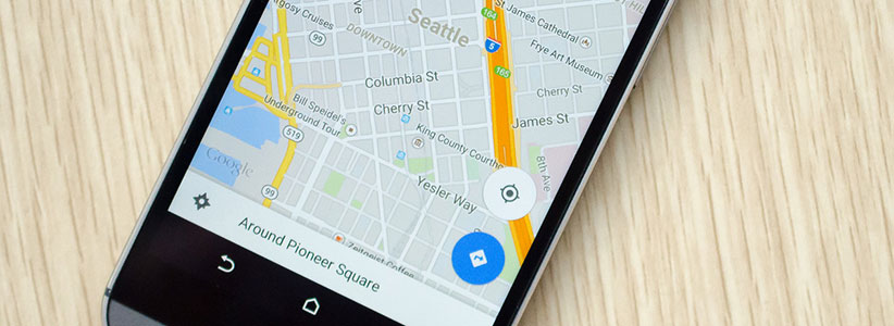 اپلیکیشن مسیریابی - گوگل مپس