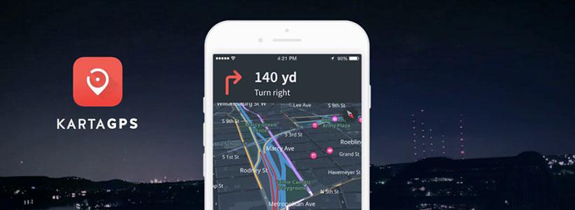 اپلیکیشن مسیریابی - کارتا جی پی اس