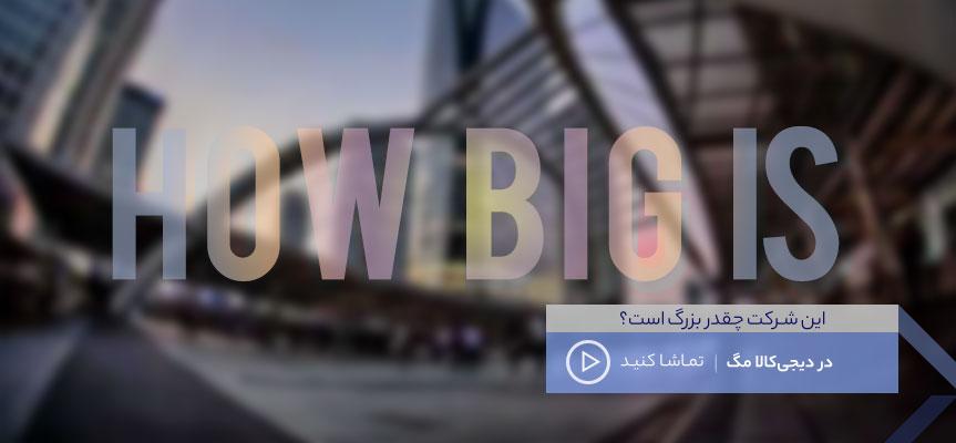 این شرکت چقدر بزرگ است؟