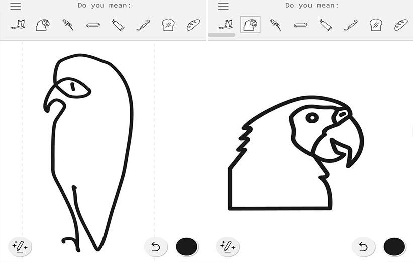 خطخطی کنید، گوگل به شما نقاشی تحویل میدهد