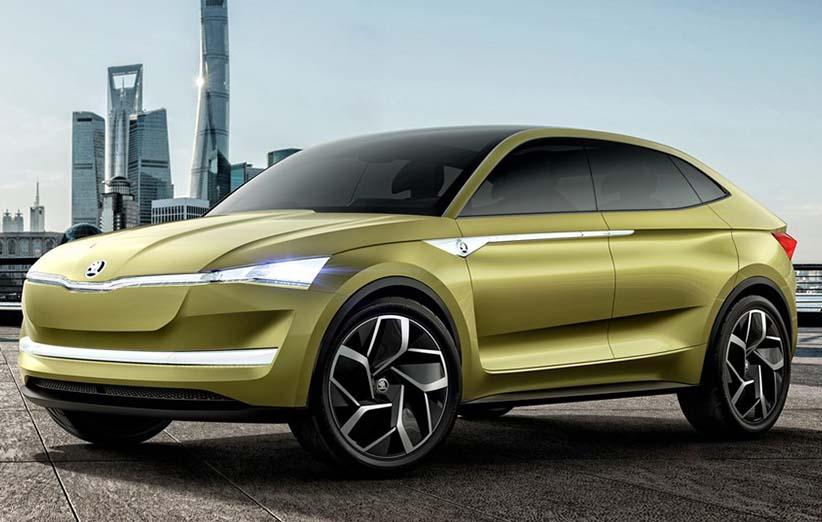 خودروی شاسی بلند اشکودا ویژن E، رقیب تسلا مدل X