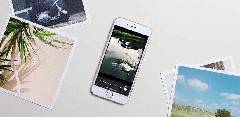 اپلیکیشن دوربین برای عکاسی با آیفون