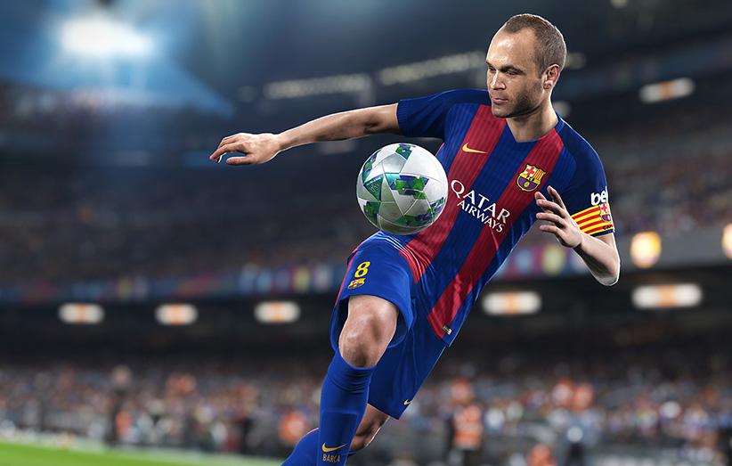 شرکت بازیسازی کونامی رسما از PES 2018  رونمایی کرد