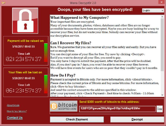 هشدار مایکروسافت به دولتها دربارهی ویروس WannaCry