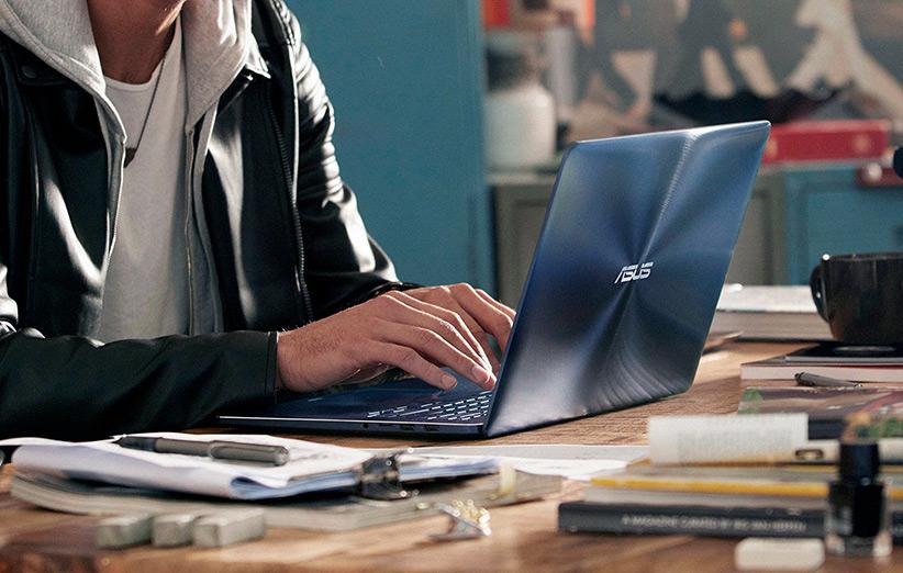ZenBook Pro جدید ایسوس باریک، سبک و حسابی قوی است