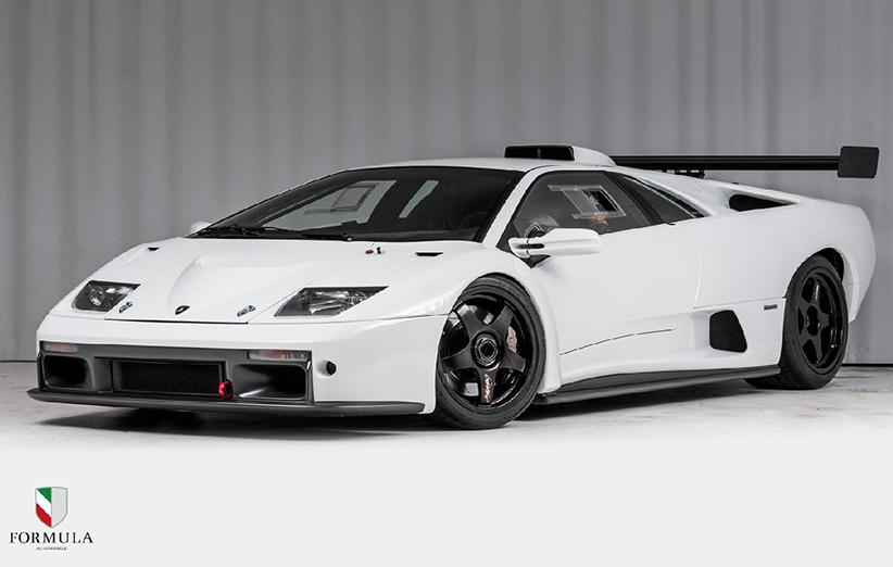 لامبورگینی کمیاب مدل دیابلو GTR به حراجی گذاشته شد