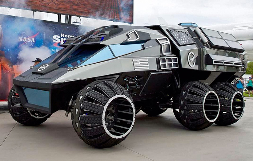 مریخنورد جدید ناسا بیشتر به درد بازیهای علمی-تخیلی میخورد