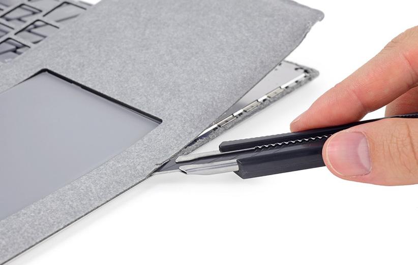 تعمیر لپتاپ جدید مایکروسافت Surface Laptop غیر ممکن است
