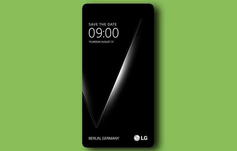 سخت افزار گوشی LG V30 لو رفت