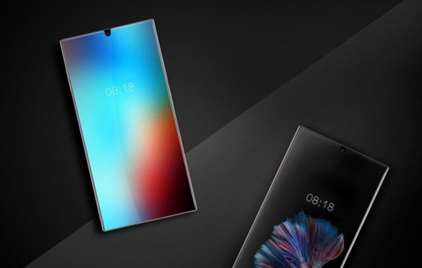 گوشی جدید شارپ صفحه نمایش ۴K بدون حاشیه دارد