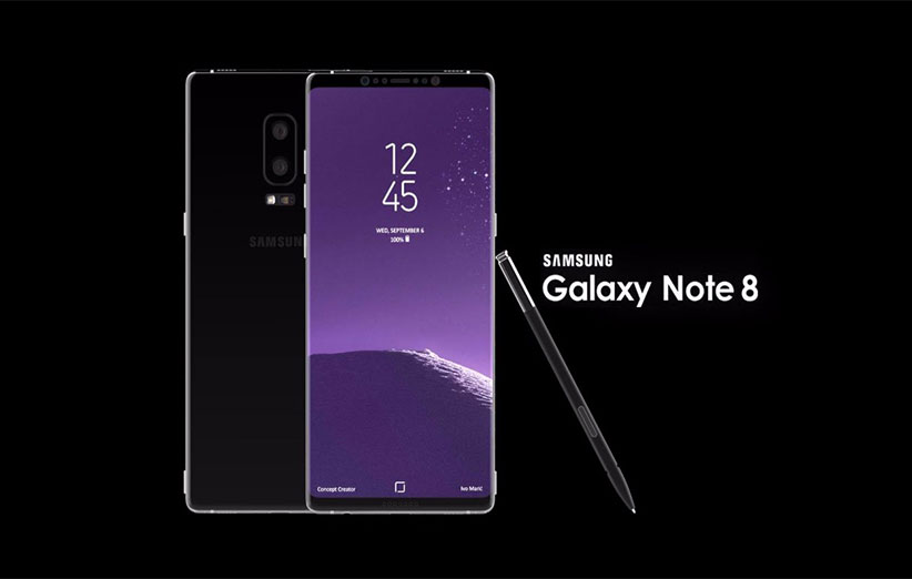 Galaxy Note 8 به همراه S Pen عرضه میشود