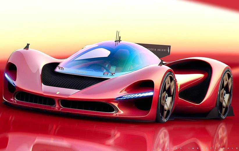 خودروی فراری P3، رقیب خیالی آستون مارتین والکری