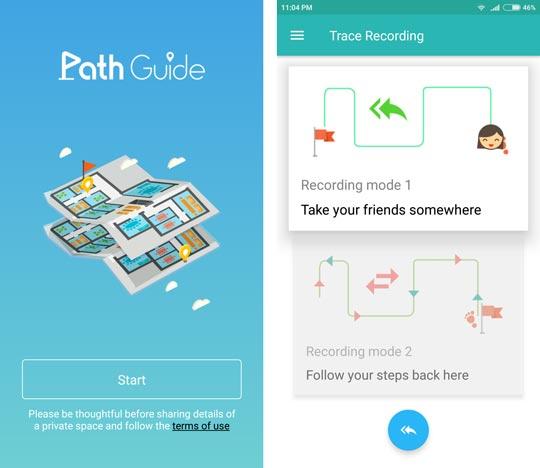 اپلیکیشن Path Guide - مسیریابی بدون GPS