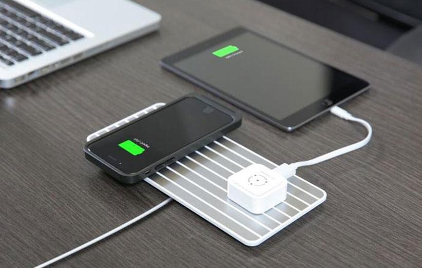 شارژربیسیم گوشی اپل آیفون ۸ این شکلی است