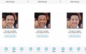 با آپدیت جدید Face App میتوانید سرخپوست، سیاهپوست یا چینی شوید