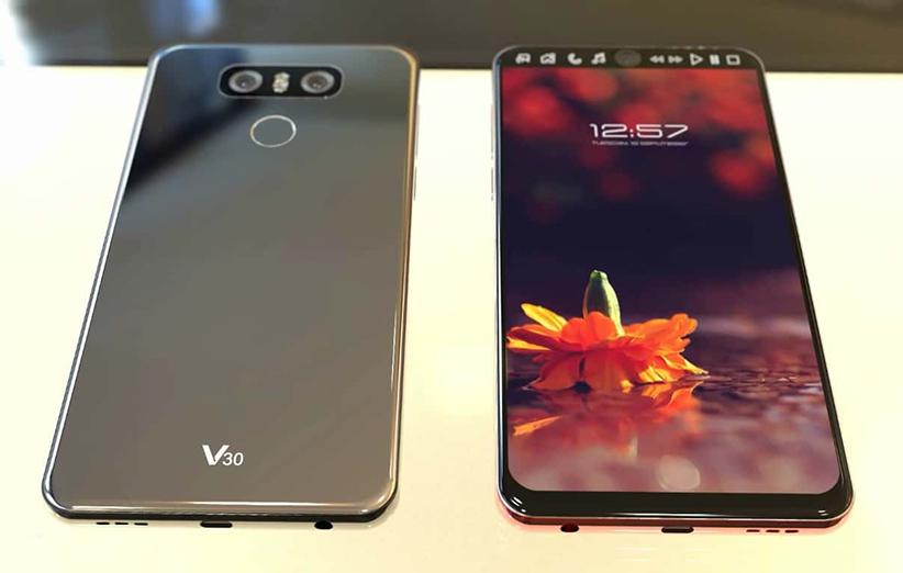 V30 احتمالا صفحه نمایش حساس به فشار دارد
