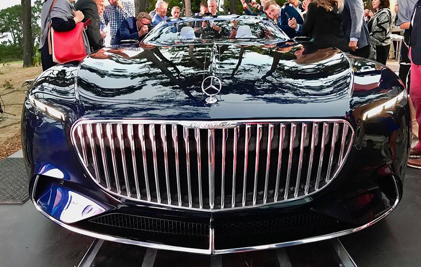 کانسپت مایباخ ۶؛ خودرویی با قلب قدرتمند و طراحی متفاوت