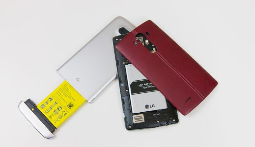 گوشی هوشمند - باتری قابل تعویض