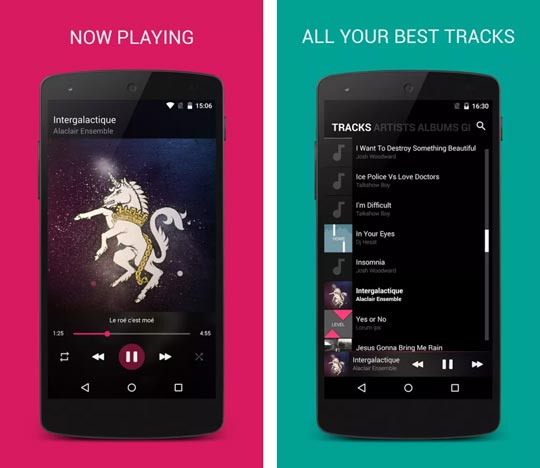 1 4 - بهترین موزیک پلیر رایگان؛ نقد و بررسی اپلیکیشن BlackPlayer