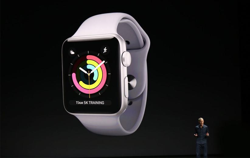 اپل واچ سری ۳ به طور رسمی رونمایی شد