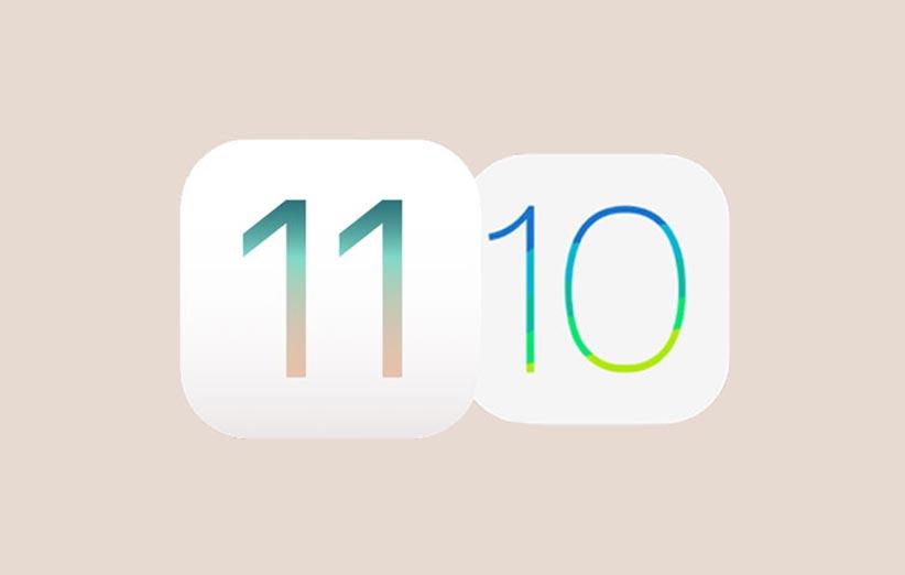 iOS 11 Vs iOS 10 - iOS 11 محبوبتر از iOS 10 شد؛ سهم اندروید ۸ از بازار ناچیز است