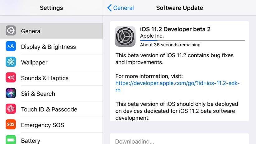 راه حل مشکلات iOS 11