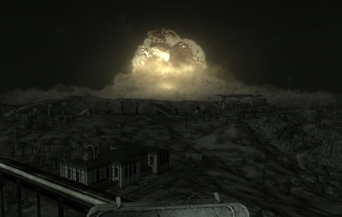 Blowing up Megaton in Fallout 3