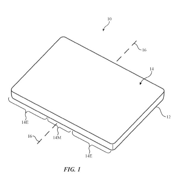 گوشی آیفون با صفحه نمایش قابل انعطاف