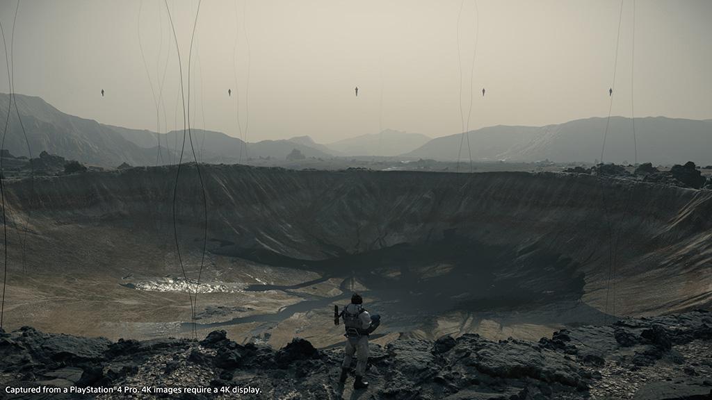 Death Stranding Trailer - Crater