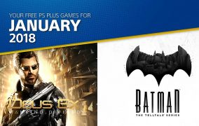 PS Plus January 2018