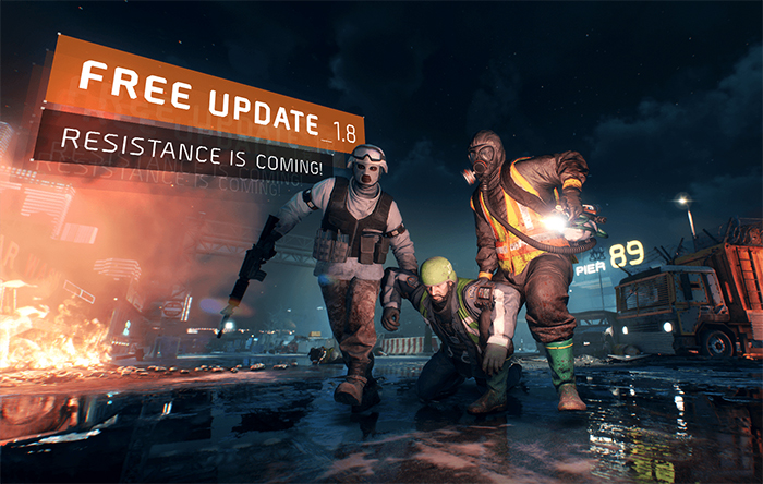 The Division Update 1.8 Resistance