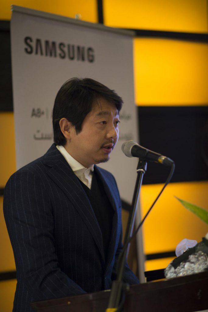 کیت شین، مدیر ارشد بخش موبایل سامسونگ ایران