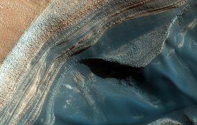 Mars Ice Pole