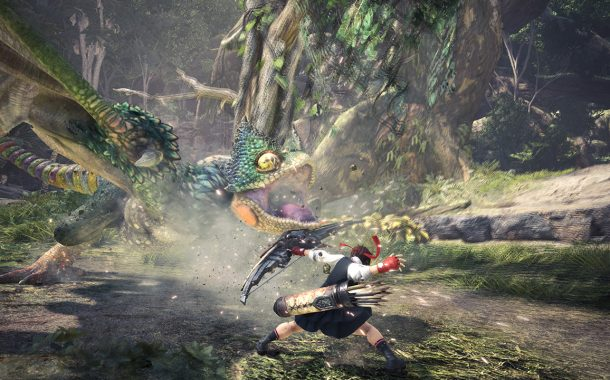 شخصیتهای استریت فایتر به Monster Hunter: World میآیند