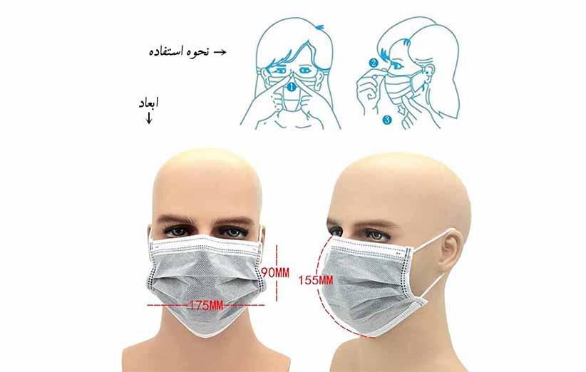 ماسک ضد گرد و غبار