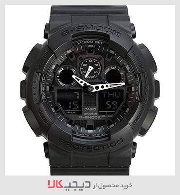 خرید ساعت مچی عقربه ای مردانه کاسیو مدل GA-100-1A1DR